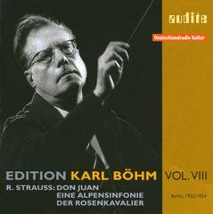 Karl Böhm - Richard Strauss: Don Juan; Eine Alpensinfonie; Der Rosenkavalier