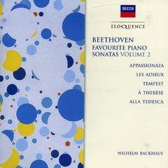 Beethoven, L. Van - Beethoven: Favourite Piano Sonatas, Vol. 2 [Australia]