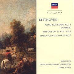 """Beethoven, L. Van - Beethoven: Piano Concerto No. 5 """"Emperor""""; Rondos; Piano Sonatas Nos. 19 & 20 [Australia]"""