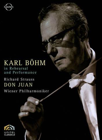 Karl Böhm - Karl Böhm in Rehearsal and Performance [DVD Video]
