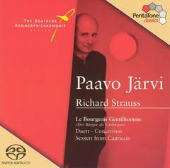 Paavo Järvi - Richard Strauss: Le Bourgeois Gentilhomme; Duett-Concertino; Sextett from Capriccio