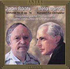 Christian Ehwald - Jaan Rääts: Sinfonie Nr. 8 Op. 74; Béla Bartók: Konzert für Orchester