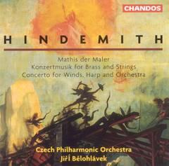 Hindemith, P. - Hindemith: Mathis der Maler; Konzertmusik for Brass & Strings