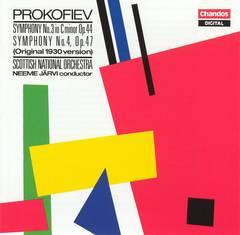Neeme Järvi - Prokofiev: Symphony No. 3; Symphony No. 4 (Original 1930 version)