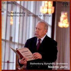 Neeme Järvi - Tchaikovsky: Symphony No. 4; Serenade for Strings