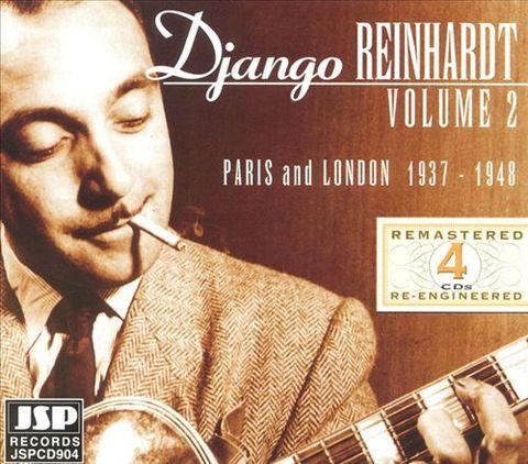 Django Reinhardt - Paris and London: 1937-1948, Vol. 2 [4 Disc]