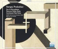 Prokofiev, S. - Sergej Prokofiev: Sur le Borysthène; Seymon Kotko Suite; Lieutenant Kijé Suite