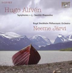 Neeme Järvi - Hugo Alfvén: Symphonies Nos. 1-5; Swedish Rhapsodies