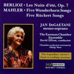Jan DeGaetani - Jan DeGaetani Sings Berlioz, Mahler