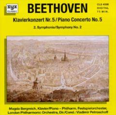 Beethoven, L. Van - Beethoven: Klavierkonzert No. 5; Symphony No. 2