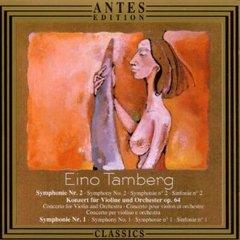 Eino Tamberg - Symphonien Nr.1 & 2