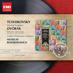 Mstislav Rostropovich - Tchaikovsky: Manfred Symphony; Dvorák: Scherzo Capriccioso