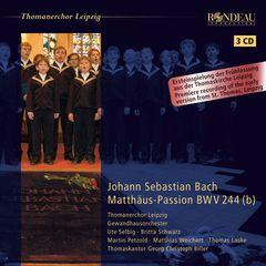 Georg Christoph Biller - Johann Sebastian Bach: Matthäus-Passion BWV 244(b)