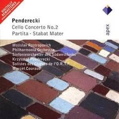 Mstislav Rostropovich - Penderecki: Cello Concerto No. 2; Partita; Stabat Mater