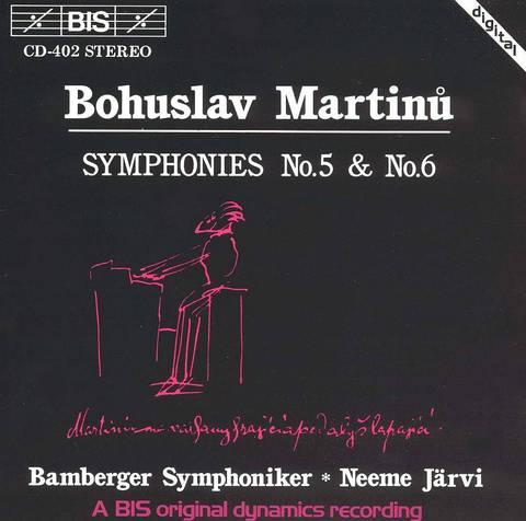 Neeme Järvi - Martinu: Symphonies Nos. 5 & 6