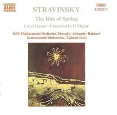 Stravinsky, I. - Stravinsky: The Rite of Spring; Card Game; Concerto in D major