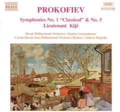 Prokofiev, S. - Prokofiev: Symphonies Nos. 1 & 5: Lieutenant Kijé