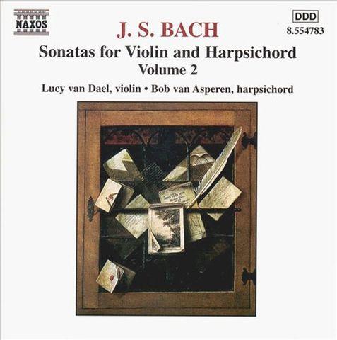 Bach, J.S. - Bach: Sonatas for Violin & Harpsichord, Vol. 2