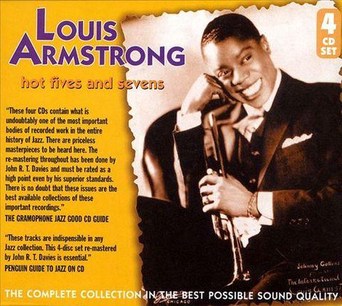 Louis Armstrong - The Hot Fives & Sevens [JSP] [Box]