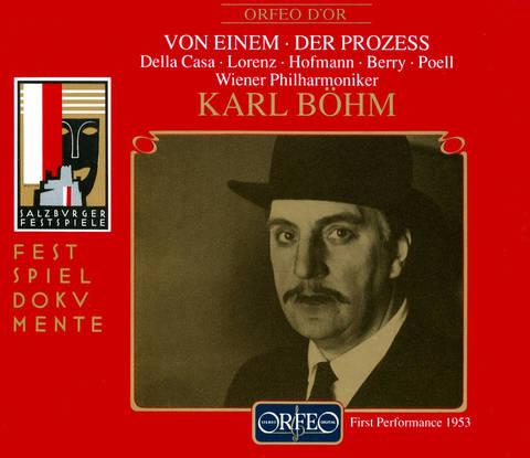Karl Böhm - Gottfried von Einem: Der Prozess