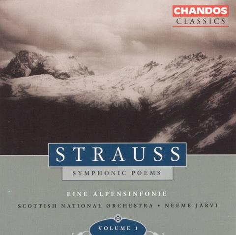 Neeme Järvi - Strauss: Symphonic Poems, Vol. 1