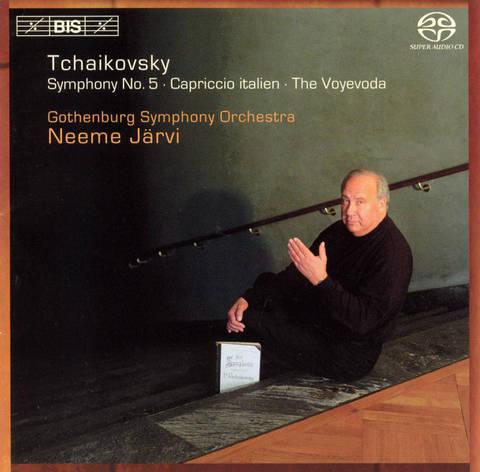 Neeme Järvi - Tchaikovsky: Symphony No. 5; Capriccio italien; The Voyevoda