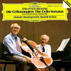 Mstislav Rostropovich - Brahms: Cello Sonatas