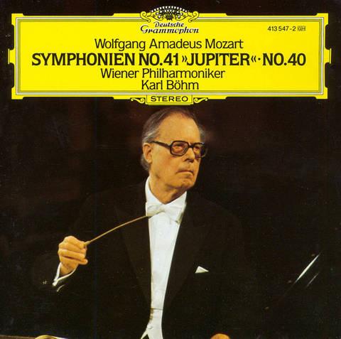 Karl Böhm - Wolfgang Amadeus Mozart: Symphonie No. 41
