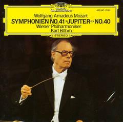 """Karl Böhm - Wolfgang Amadeus Mozart: Symphonie No. 41 """"Jupiter""""; No. 40"""