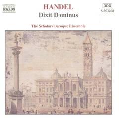 Scholars Baroque Ensemble - Handel: Dixit Dominus