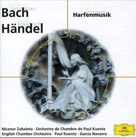 Bach, J.S. - Bach, Händel: Harfenmusik [Germany]