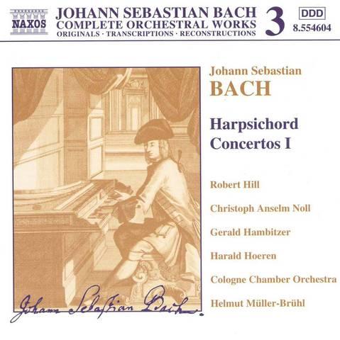 Bach, J.S. - Bach: Harpsichord Concertos 1