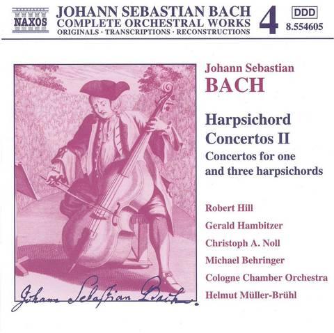 Bach, J.S. - Bach: Harpsichord Concertos 2