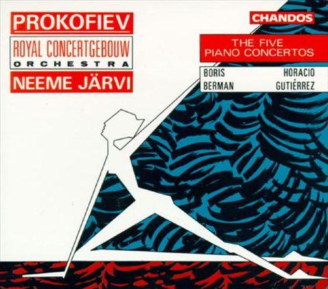Neeme Järvi - Sergey Sergeyevich Prokofiev: The Five Piano Concertos