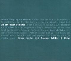 Various Artists - Die Schönsten Gedichte: Jürgen Goslar Liest