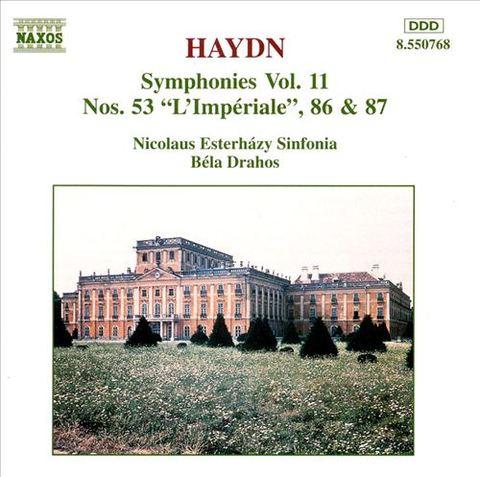 Haydn, J. - Haydn Symphonies, Vol. 11: 53, 86 & 87