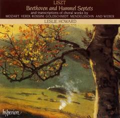 Leslie Howard - Liszt: Beethoven & Hummel Septets and Other Transcriptions