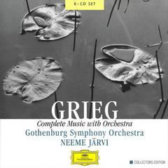 Neeme Järvi - Grieg: Complete Music with Orchestra [Box Set]
