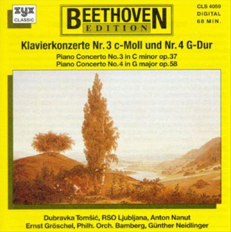 Beethoven, L. Van - Beethoven: Piano Concertos Nos. 3 & 4