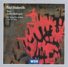 Hindemith, P. - Paul Hindemith: Mass; Twelve Madrigals