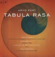 Arvo Pärt - Tabula Rasa, Symphony No.1, Collage