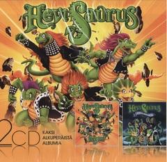 HeviSaurus - 2CD SLIPCASE: RÄYH / HIRMULISKOJEN YÖ
