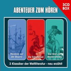 Abenteuer zum Hören - Die 3-CD Abenteuer Hörspielbox