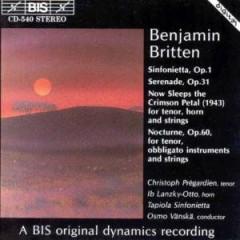 Britten, B. - Sinfonietta Op.1