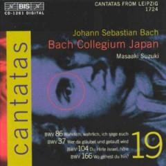 Bach, J.S. - Cantatas Vol.19