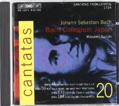 Bach, J.S. - Cantatas Vol.20
