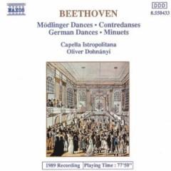 Beethoven, L. Van - Modlinger Dances/Contreda