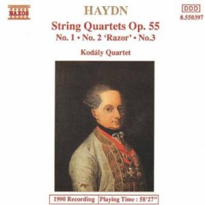 Haydn, J. - String Quartets Op.55,1 3