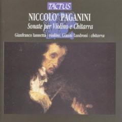 Paganini, N. - Sonate Per Violino E Chit