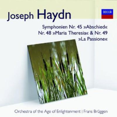 Haydn, J. - Sinfonien 45, 48, 49 (Aud